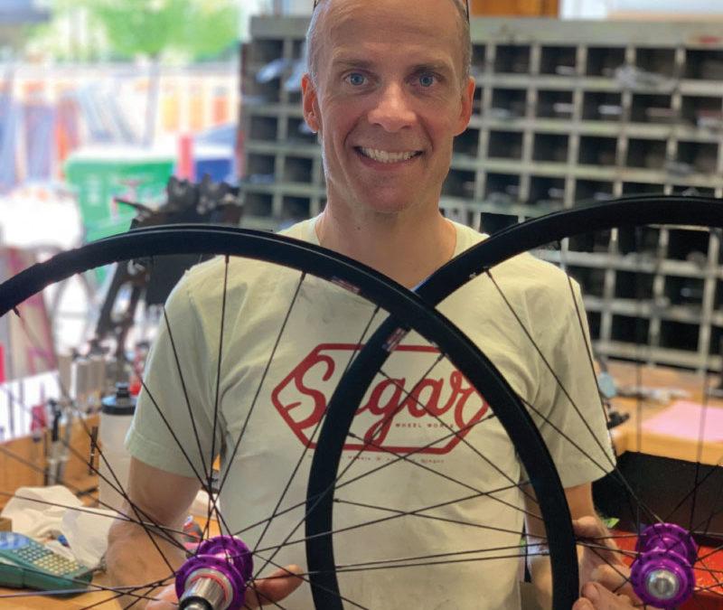 Enter to Win: Custom Sugar Wheel Works Wheelset